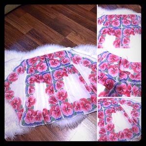 🦋2/$10 3/$15 4/$18 5/$20  50s Handkerchief Apron